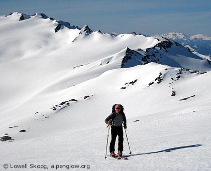 Glacier Peak via White Pass - by Lowell Skoog